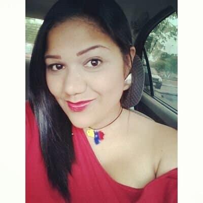 Periodista Eliana Andrade. Cortesía de su cuenta personal de Twitter